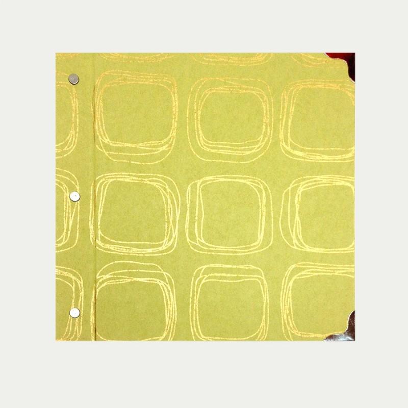 "Handmade Bao Bao - 10"" Handmade Photo Album 本地手工製作相簿 (FB6012-01_4)"