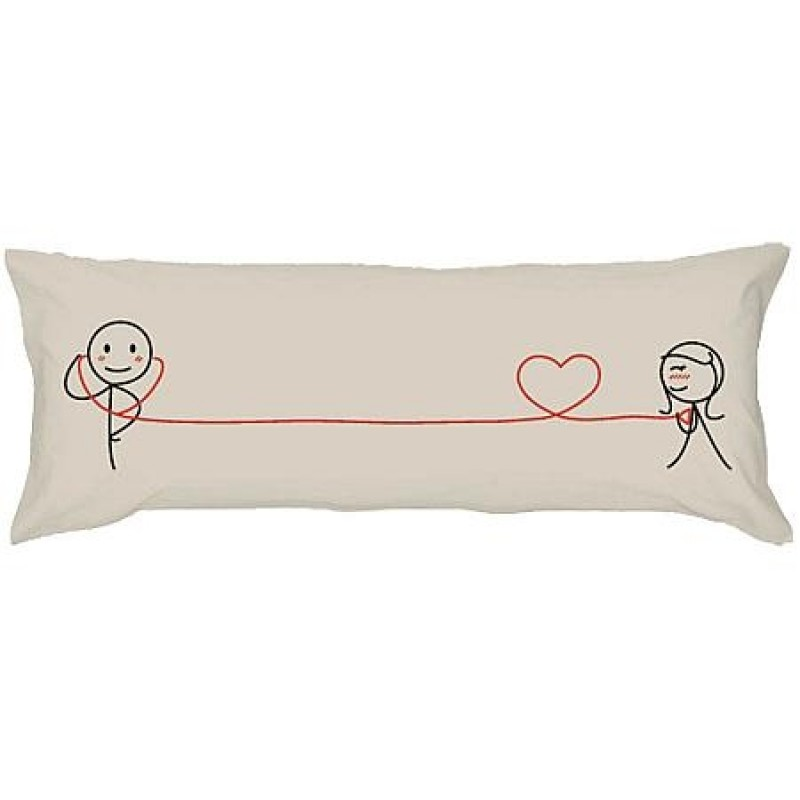 """Human Touch """"Check Your Love"""" Long Pillow Case (3HT06-43)"""