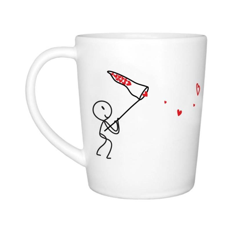 """Human Touch - Boy Meets Girl """"Kiss Catcher"""" Mug (3HTT04-39) 1pc only"""