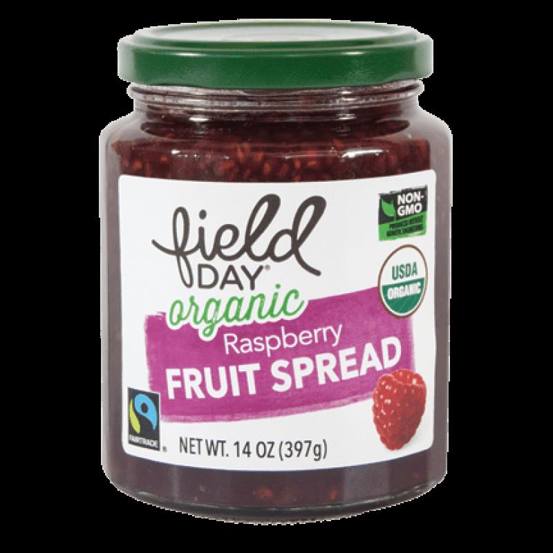 """美國有機草莓醬""""Field Day"""" Organic Raspberry Fruit Spread"""
