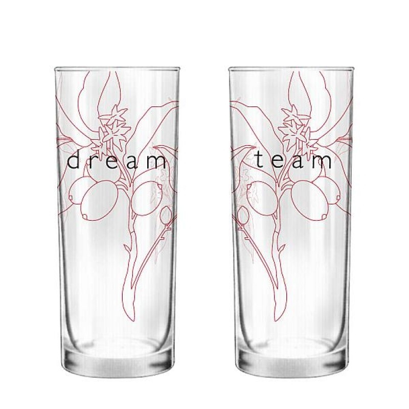 """Human Touch - Nature Touch """"Dream Team"""" Set / 2 Glass (GL01291480)"""