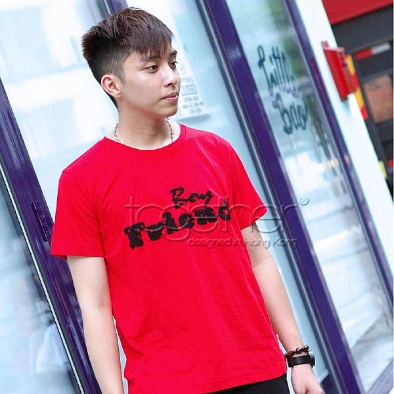 "Together ""Boy Friend"" Tee Shirt 男裝Tee恤 (2526M)"