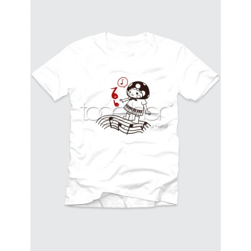 """Together """"Love Music"""" Girl Tee Shirt (AG1004F)"""