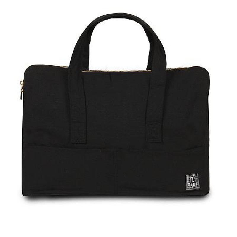 T-Bags Linen Bag - Black (TBCB011BK)