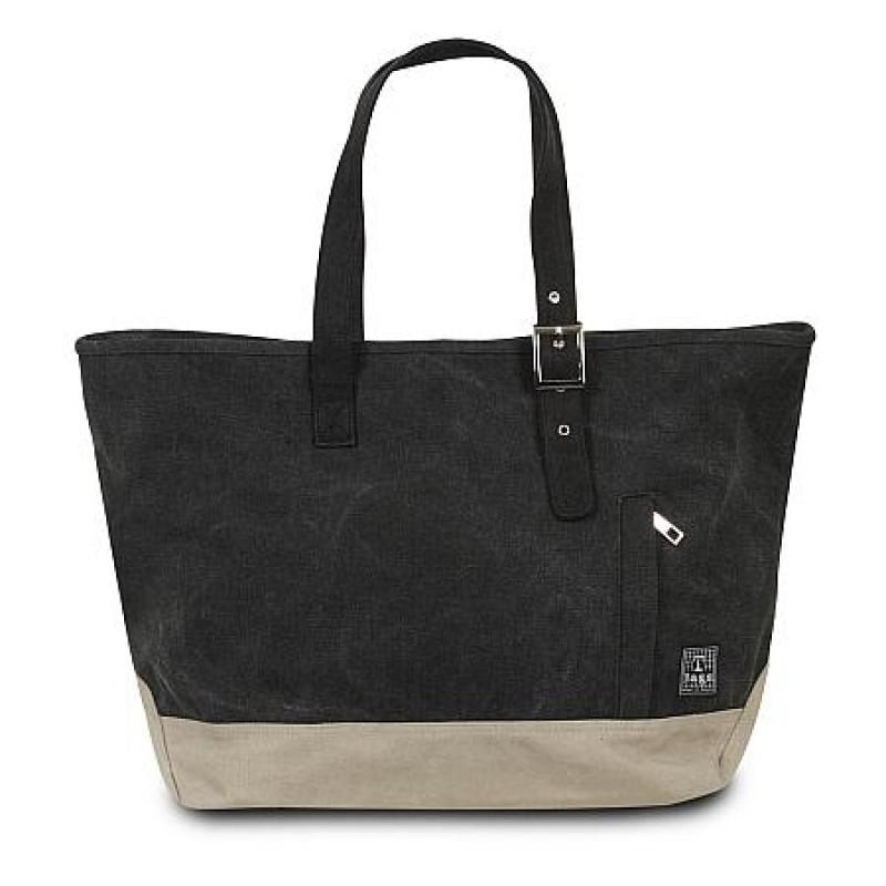 T-Bags Large Linen Bag - Black (TBCBZ-011BK)