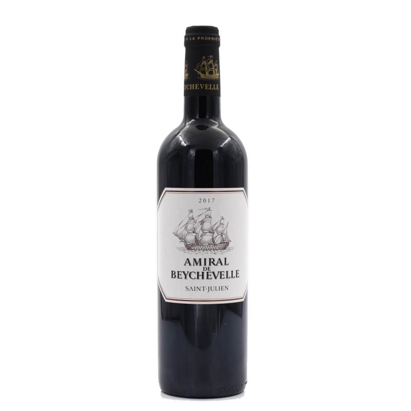 法國波爾多龍船堡紅葡萄酒 CHÂTEAU BEYCHEVELLE - AMIRAL DE BEYCHEVELLE 2017 750ML