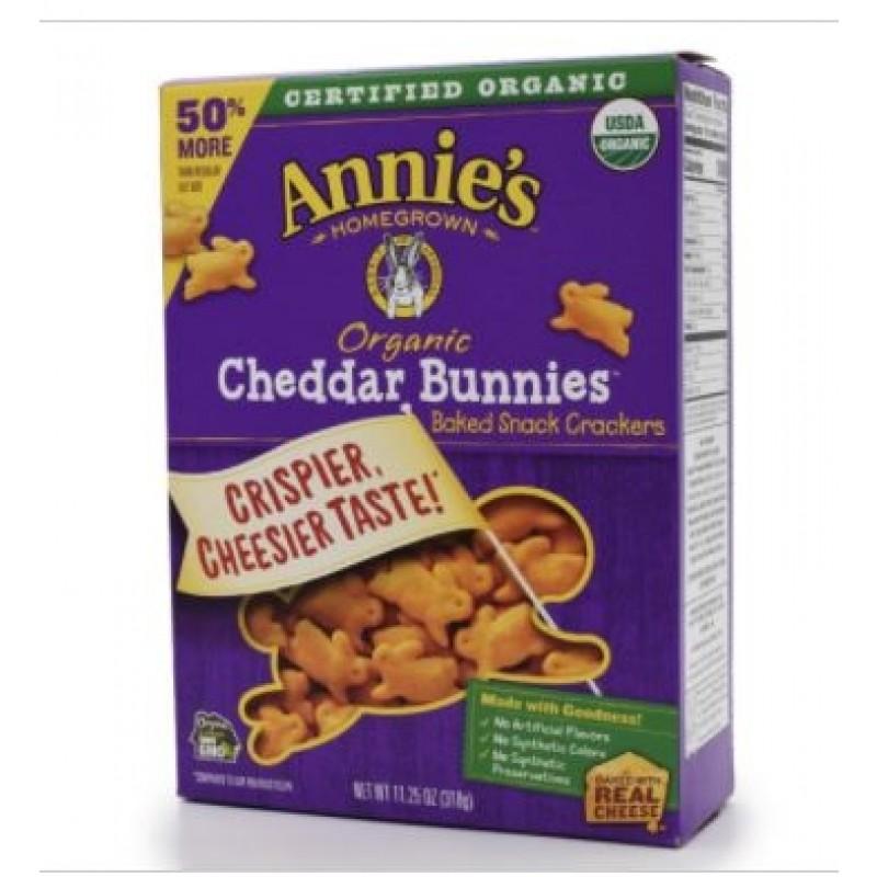 (3/7/21) Annie's Homegrown - 美國有機車打芝士兔子烤脆餅乾 50%增量  (已過最佳食用日期)