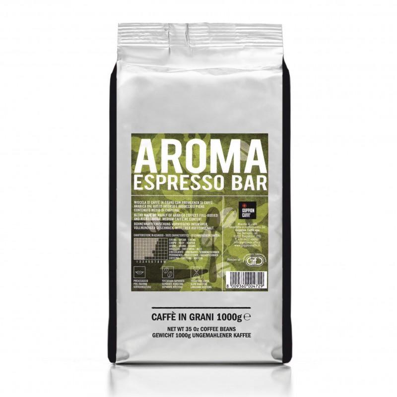 Goppion Caffe - CAFE ESPRESSO AROMA Coffee Beans 意大利香濃咖啡豆 (咖啡因含量中等) 1000g