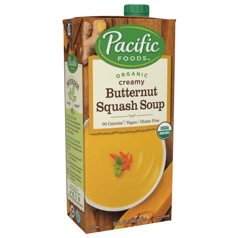 """美國有機軟滑堅果南瓜湯""""Pacific Foods"""" ORGANIC CREAMY BUTTERNUT SQUASH SOUP"""