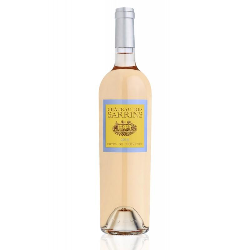 法國普羅旺斯玫瑰葡萄酒 Château des Sarrins AOC CÔTES DE PROVENCE ROSÉ 2015 750ML