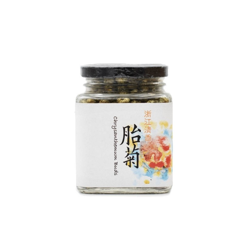 食養原色胎菊 (浙江) Wholesome Raw Chrysanthemum Buds (Zhejiang) 50G
