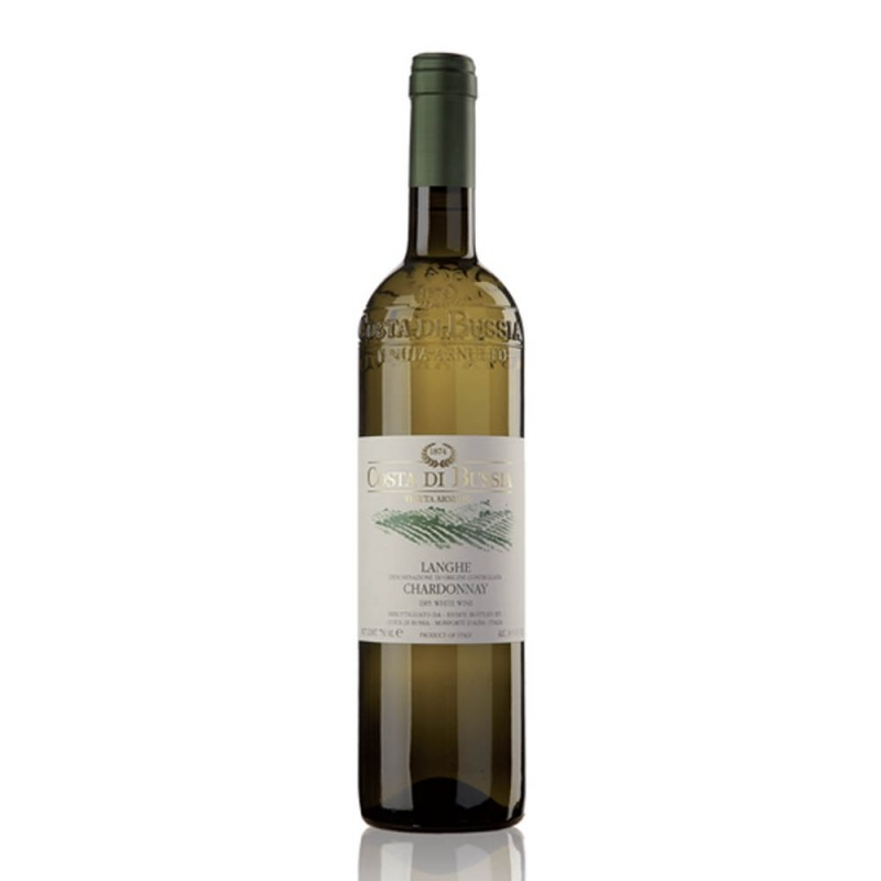 "意大利朗格D.O.C.霞多麗白酒 2016""Costa di Bussia"" LANGHE DOC CHARDONNAY WHITE WINE 2016"