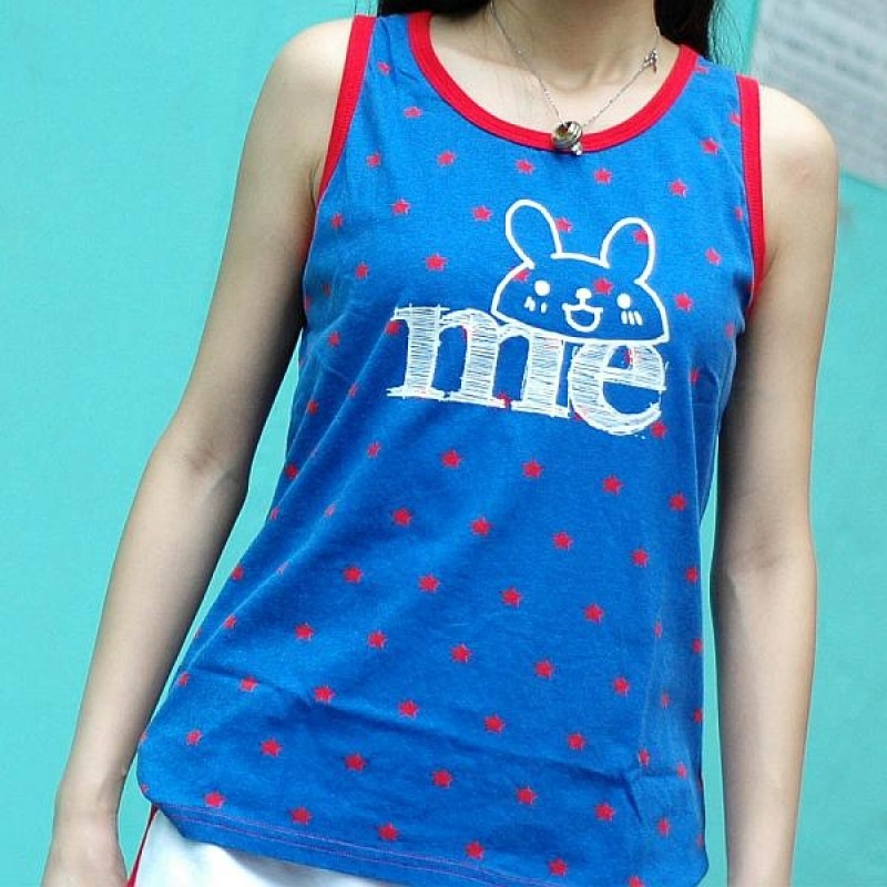 "Together ""Me"" Blue WITH Red Star Female Vest (2218FRB)"