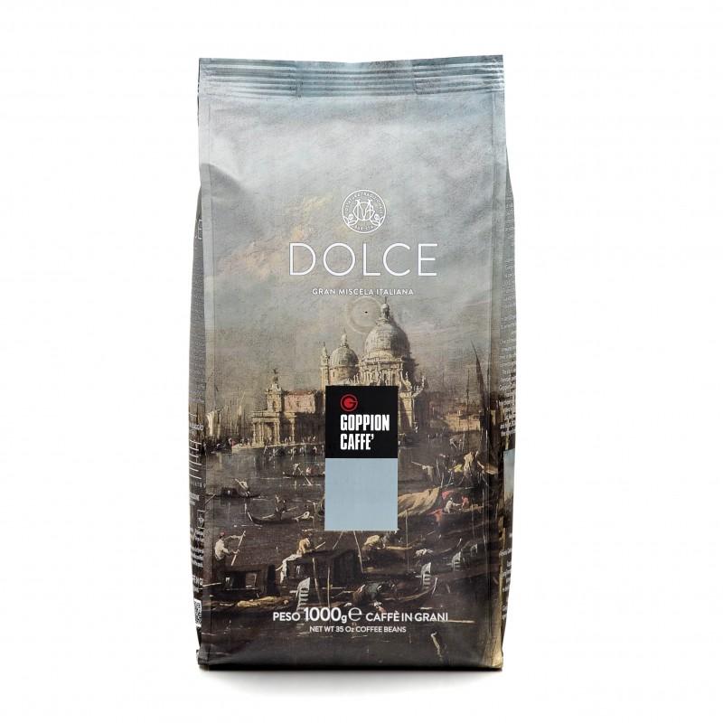 GOPPION CAFFE - DOLCE COFFEE BEANS 意大利多爾斯咖啡豆 1000G