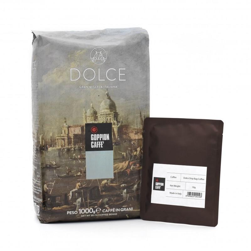 Goppion Caffe - Dolce Drip Bag Coffee 意大利多爾斯咖啡 - 掛耳式咖啡包
