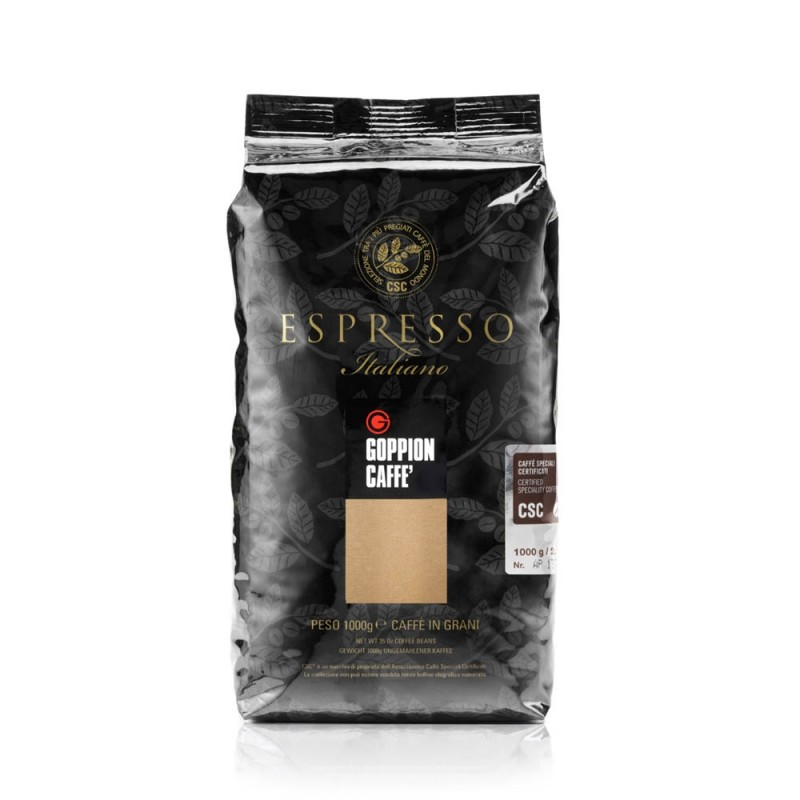 Goppion Caffe - ESPRESSO ITALIANO CSC Coffee Beans 意大利特濃精品CSC咖啡豆 1000g