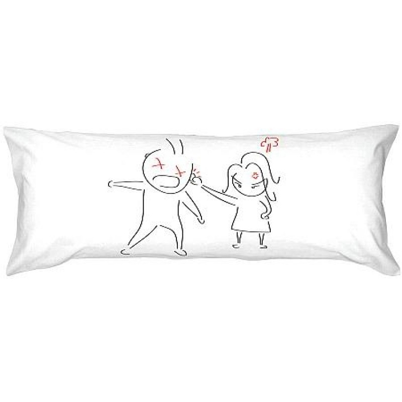"Human Touch ""Big Angry"" Long Pillow Case (3HT06-35)"