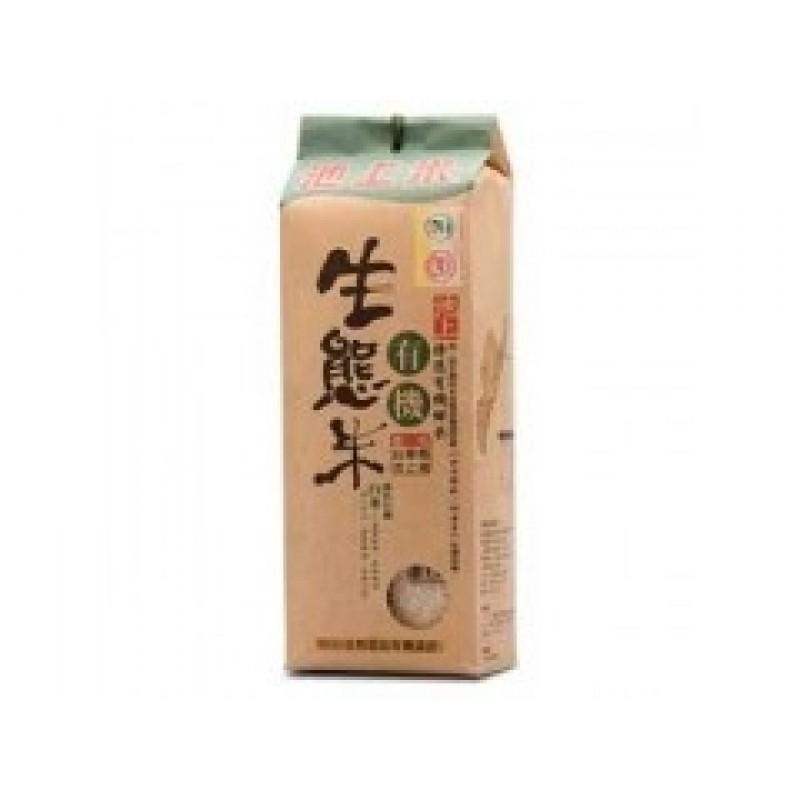 陳協和池上米有機生態白米 Chenxiehe Chihshang Organic Rice