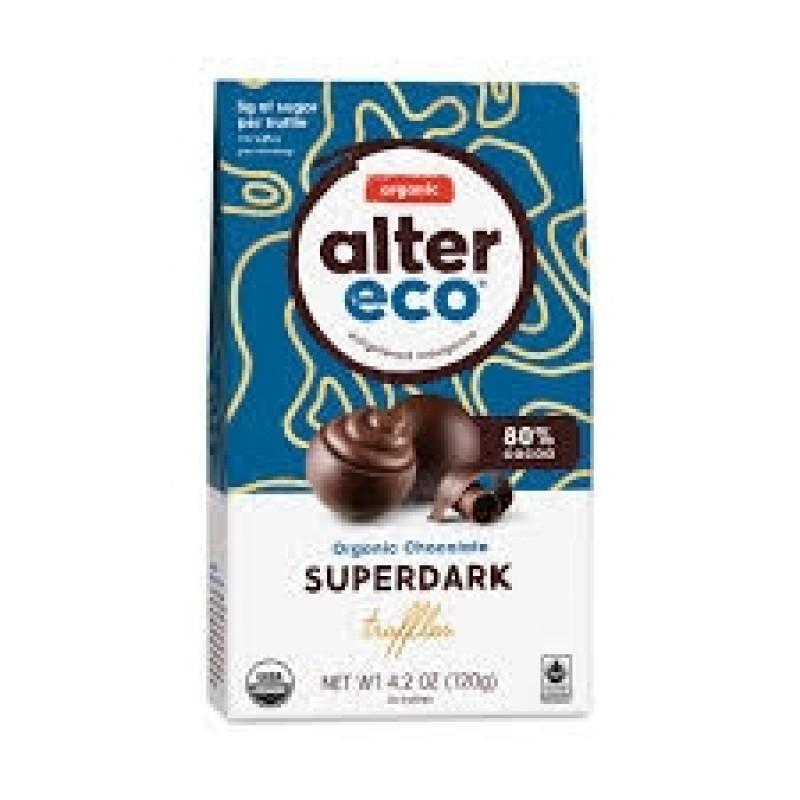 """美國有機無麩質極黑朱古力粒""""Alter Eco""""ORGANIC GLUTEN FREE CLASSIC DARK CHOCOLATE TRUFFLES"""