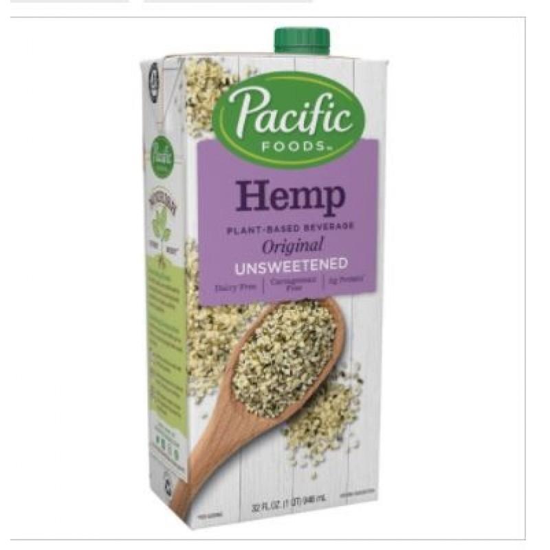 美國有機大麻籽無糖原味植物奶 Pacific Foods HEMP ORIGINAL PLANT-BASED BEVERAGE (unsweetened)