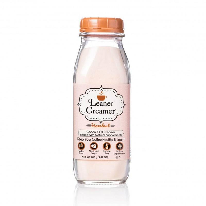 "美國椰子油榛子非乳咖啡素奶粉"" Leaner Creamer"" ORIGINAL HAZELNUT COCONUT OIL CREAMER"