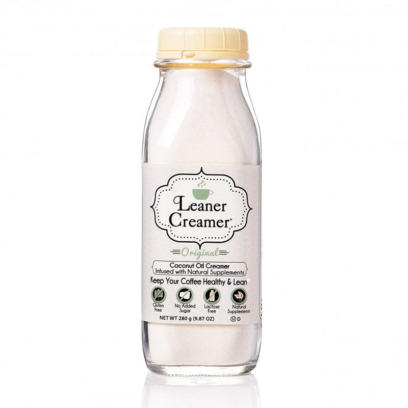 """美國椰子油非乳咖啡素奶粉"""" Leaner Creamer"""" ORIGINAL COCONUT OIL CREAMER"""
