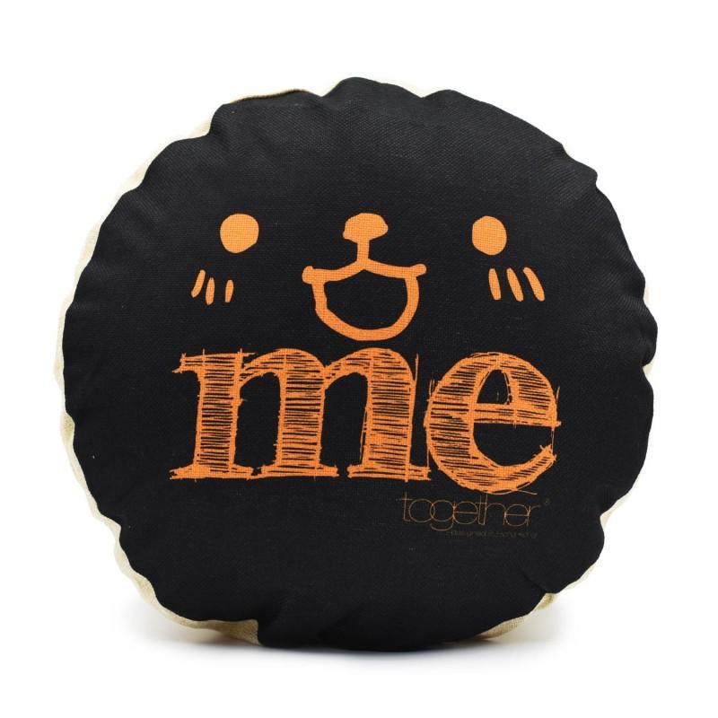 "Together ""Me"" Circle Cushion (302299BK) 1件"
