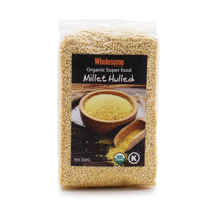 食養有機超級食品 - 小米 WHOLESOME ORGANIC SUPER FOOD - MILLET HULLED 500G