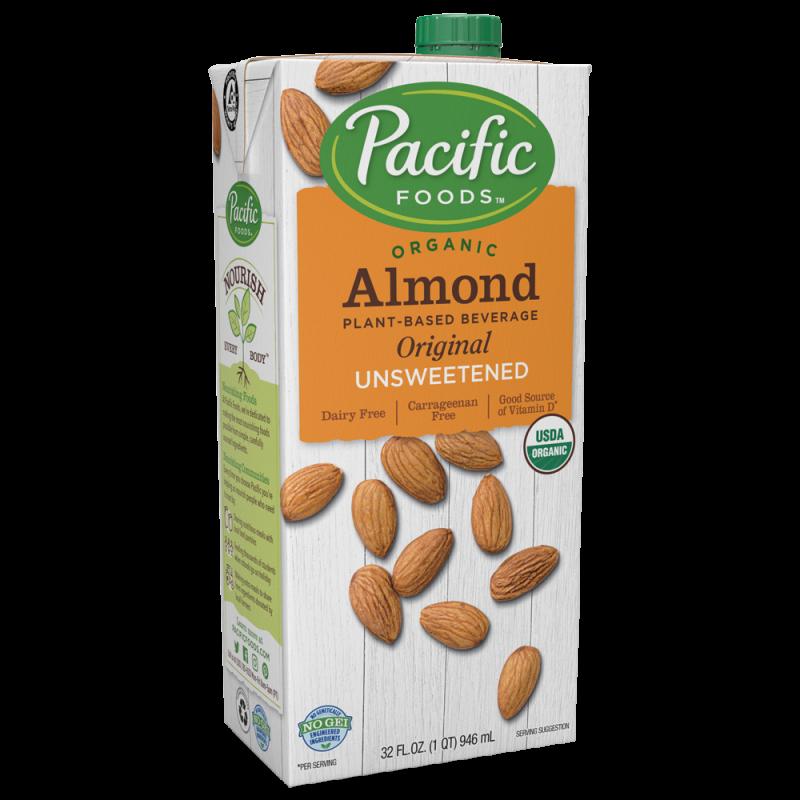 (24/08/21) 美國有機無糖杏仁原味植物奶 Pacific Foods Organic Unsweetened Almond Original Plant-based Beverage (快將到期)