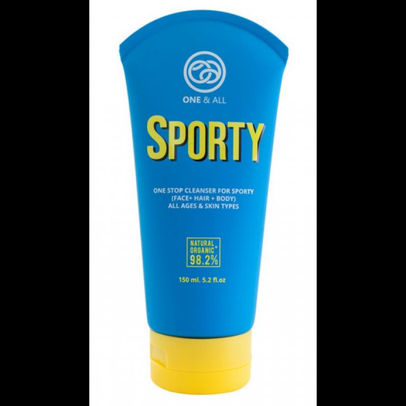 泰國運動型 - 有機三合一(面髮身)深層清潔乳液 ONE & ALL - ORGANIC ONE STOP CLEANSER FOR SPORTY (FACE+HAIR+BODY) 150ml