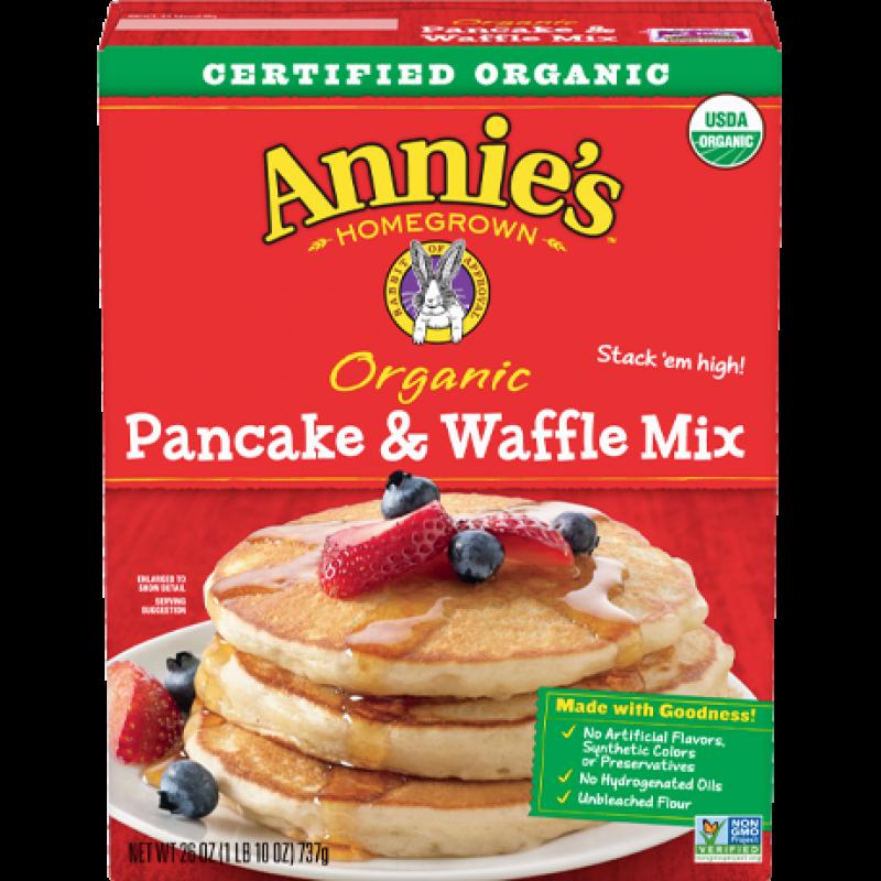 """美國有機班戟窩夫粉""""Annie's Homegrown"""" ORGANIC PANCAKE & WAFFLE MIX"""