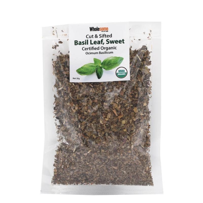 食養有機羅勒葉 Wholesome Organic Cut & Sifted Sweet Basil Leaf