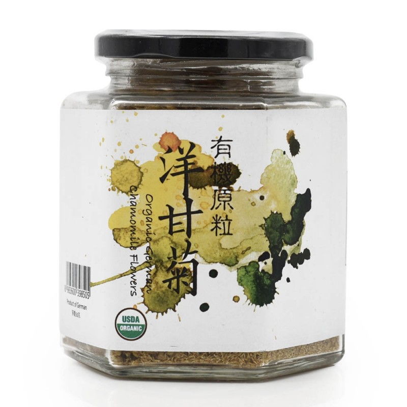 食養有機原粒洋甘菊 Wholesome Organic Raw Chamomile 50G