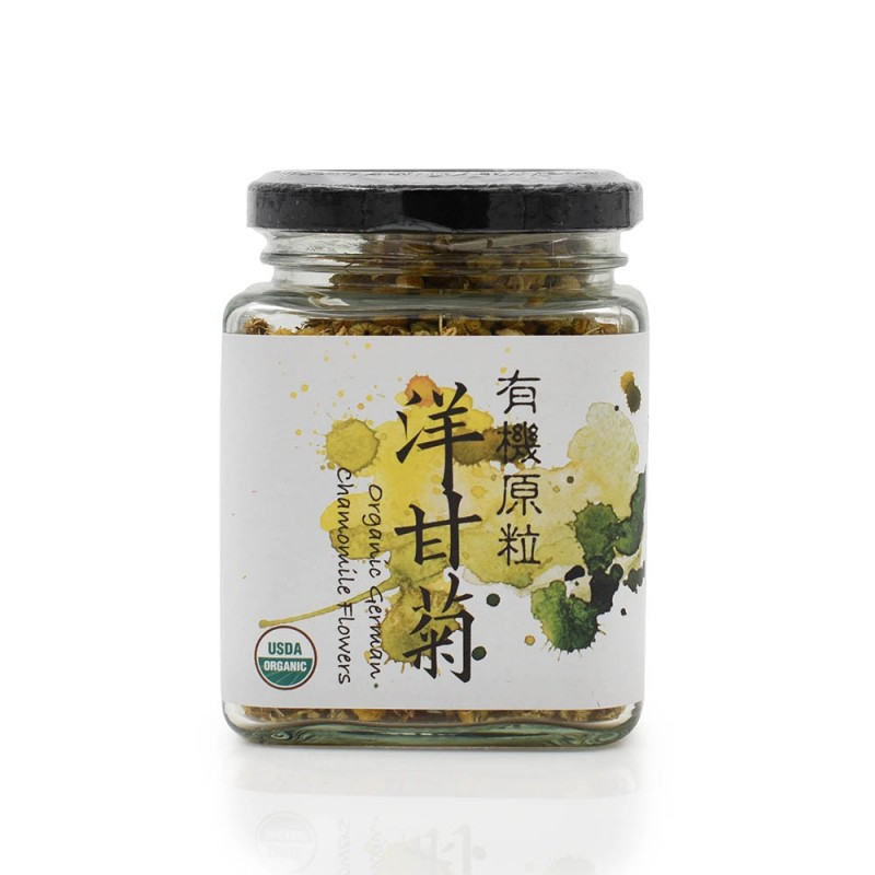 食養有機原粒洋甘菊 Wholesome Organic Raw Chamomile Tea 25G
