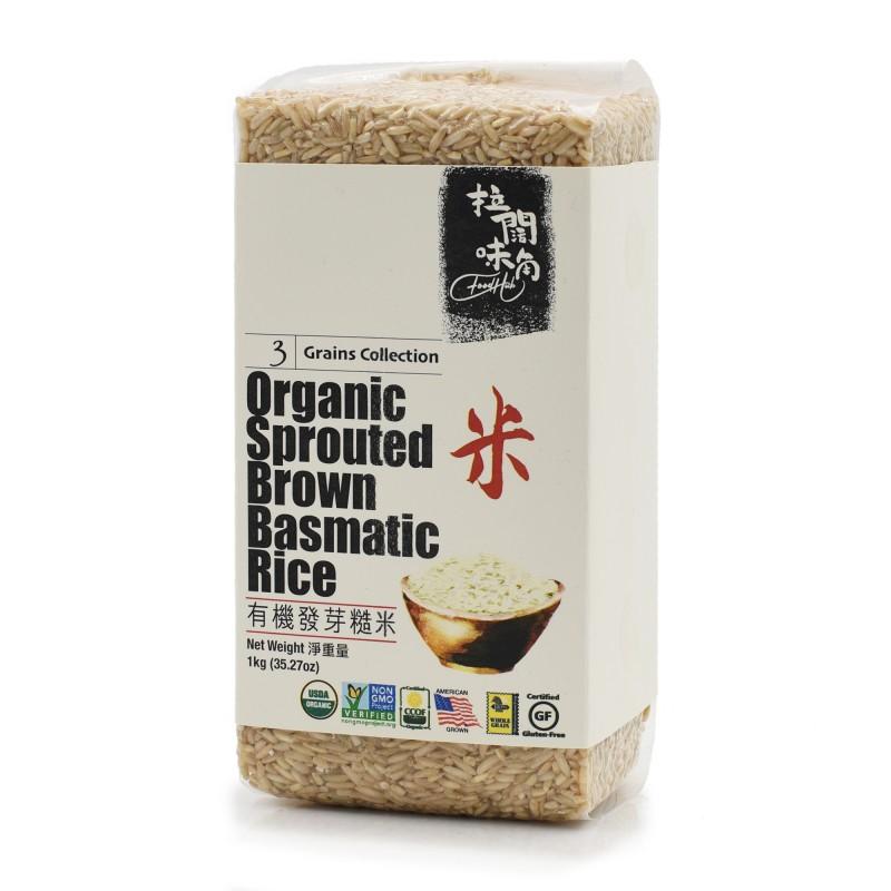 美國有機發芽糙米 ORGANIC SPROUTED BASMATIC RICE