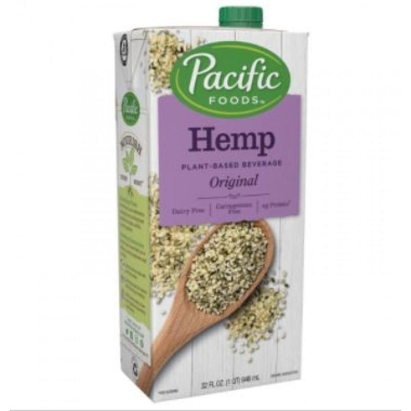 (01/08/21) 美國有機大麻籽原味植物奶 Pacific Foods HEMP ORIGINAL PLANT-BASED BEVERAGE (已過最佳食用日期)