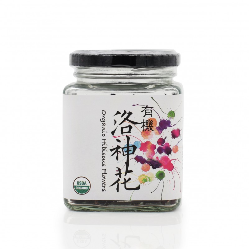 食養有機洛神花 Wholesome Organic Hibiscus Flowers 50g