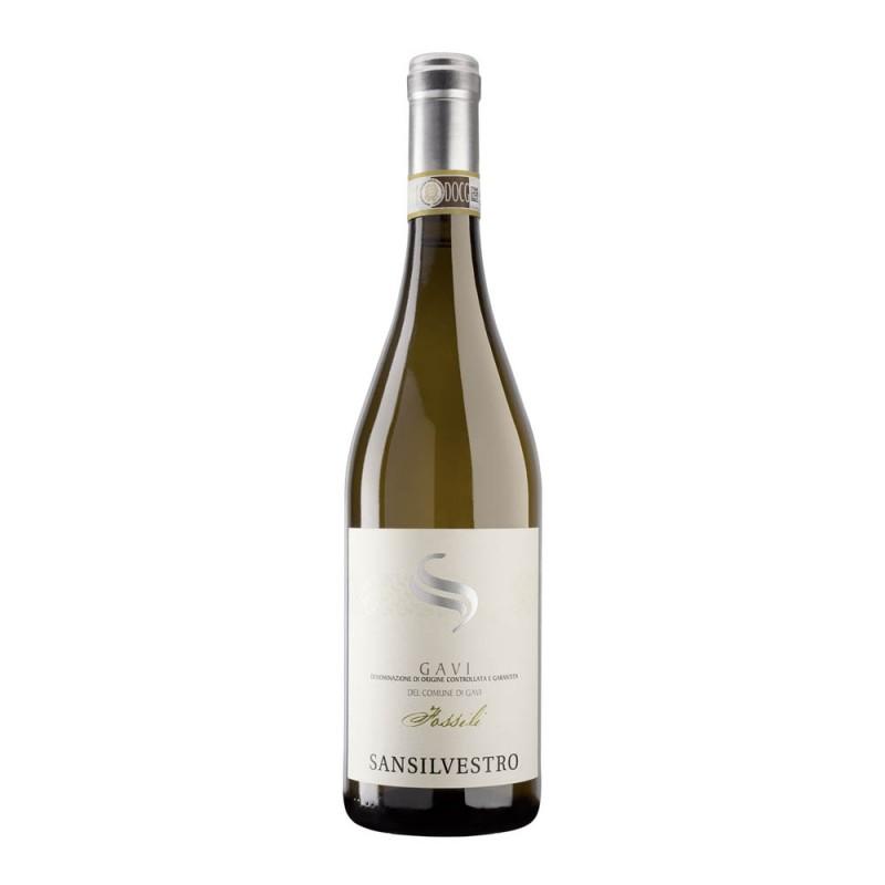 """意大利DOCG DEL COMUNE DI GAVI白酒 2016""""San Silvestro""""DOCG DEL COMUNE DI GAVI WHITE WINE 2016"""