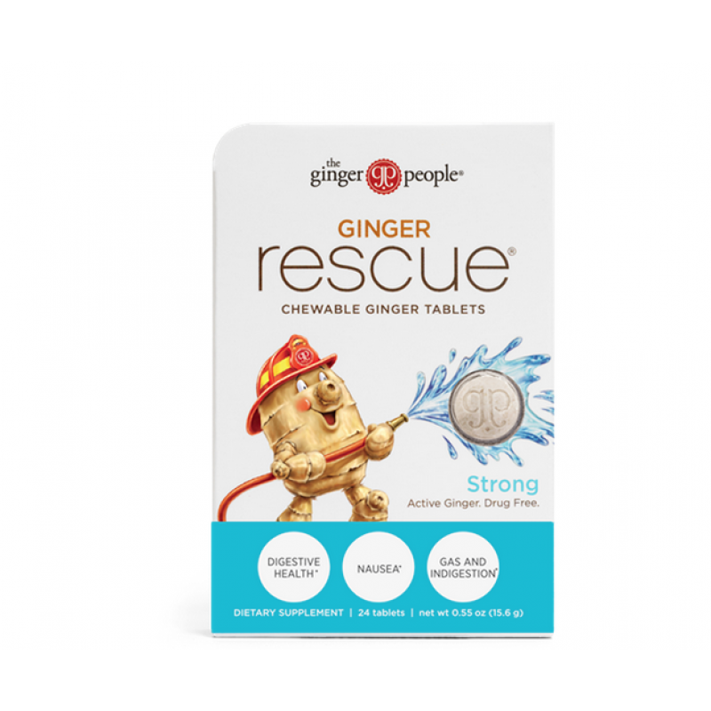 The Ginger People 美國生薑救援咀嚼片 Ginger Rescue Chewable Tables