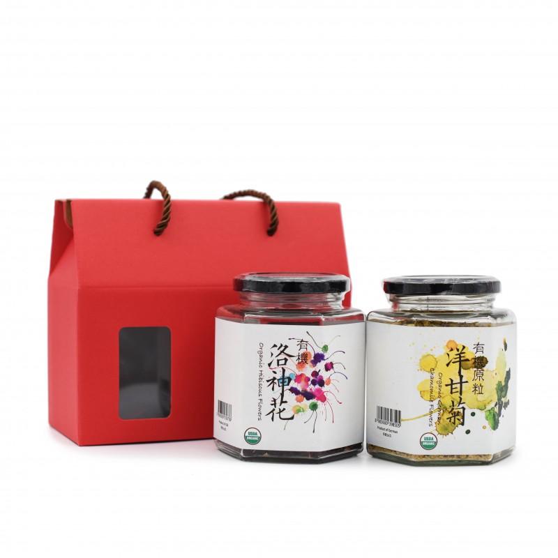 花之選禮盒 - 安神舒肝 FLOWER HAMPER SELECTION - LIVER & MENTAL NOURISHING
