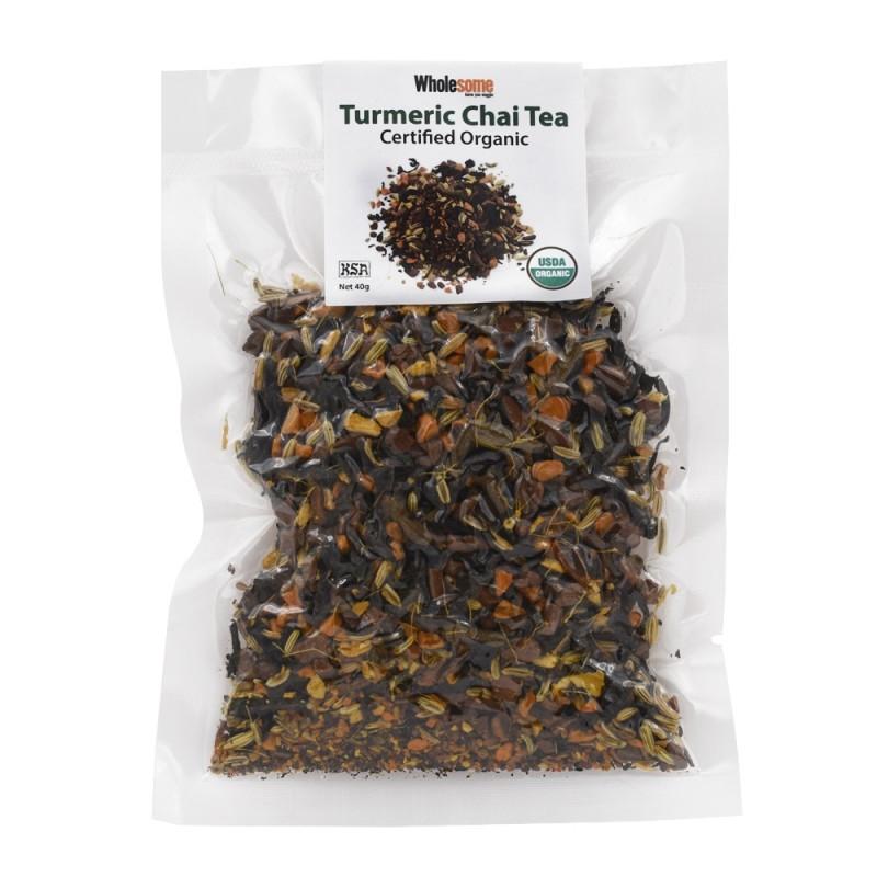 食養有機薑黃拉茶 WHOLESOME Organic Turmeric Chai Tea