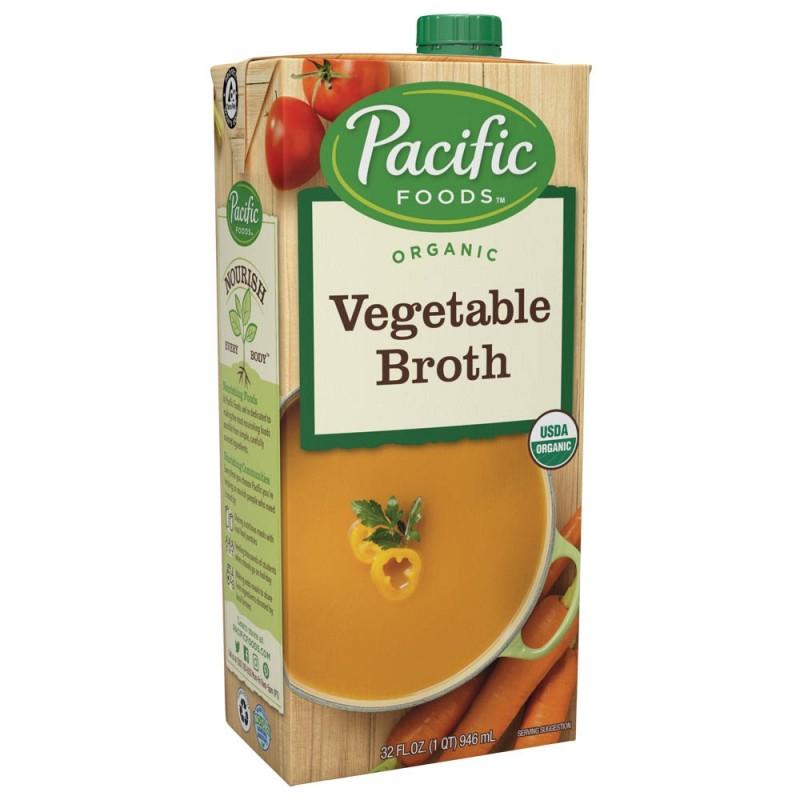 """美國有機蔬菜湯""""Pacific Foods"""" ORGANIC VEGETABLE BROTH"""
