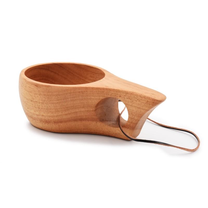 芬蘭風格單孔木杯 Kuksa Style Wood Cup KS03